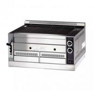 Gas Lava rock tilting grill 810 wide Chefquip